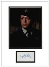 Richard Attenborough Autograph Signed - The Great Escape